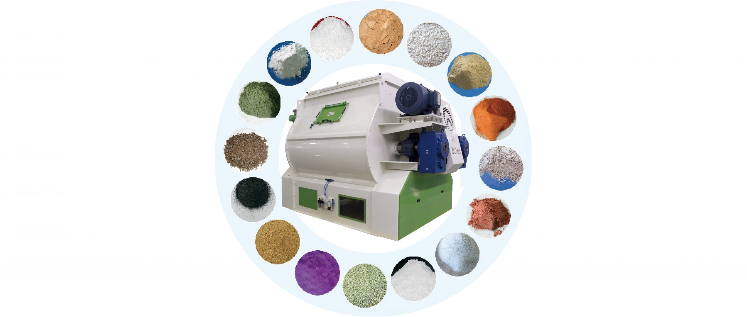 ZHENG CHANG Mixers Provide You with Ultra-high Mixing Uniformity